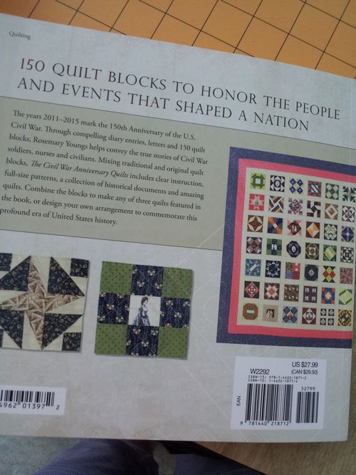Pat Sloan Review of the civil war anniversary quilts pic6