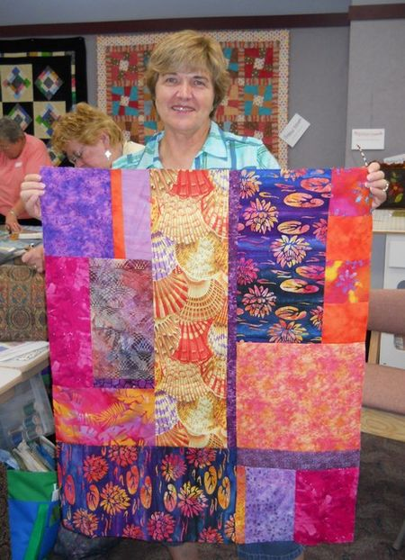 Pat sloan wild and free workshop in King of Prussia PA Betty
