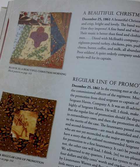 Pat Sloan Review of the civil war anniversary quilts pic3
