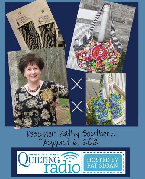Pat Sloan American Patchwork and Quilting radio Kathy Southern guest pic
