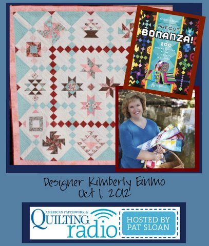 Pat Sloan American Patchwork and Quilting radio Kimberly Einmo guestv2