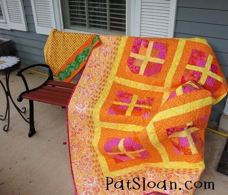 Pat Sloan pillowcase Challenge 4