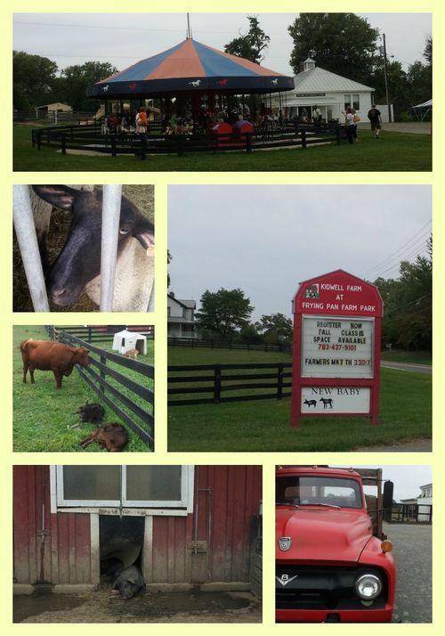Pat sloan kidwell farm Collage