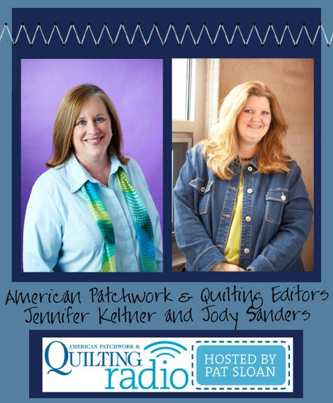 Pat sloan apq radio jennifer keltner and jody sanders guest button