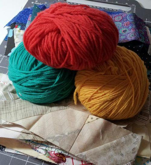 Pat sloan yarn or fabric