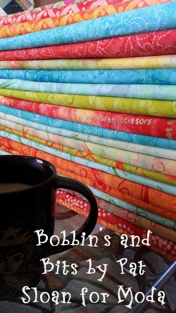 Pat sloan bobbins and bits with moda fabric3