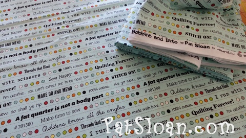 Pat sloan bobbins and bits with moda fabric7