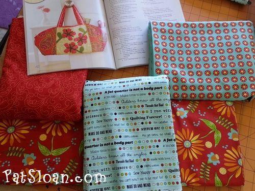 Pat sloan bobbins and bits with moda fabric8