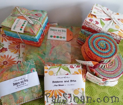 Pat sloan bobbins and bits with moda precuts