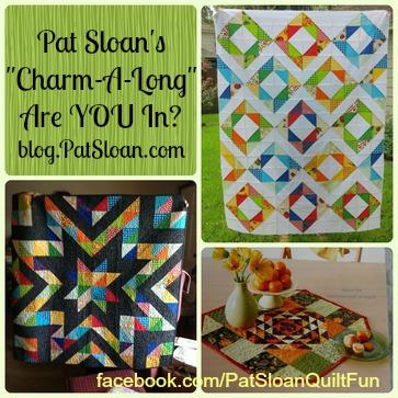 Pat Sloan Charm A Along Button