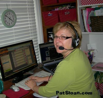Pat sloan on the radio