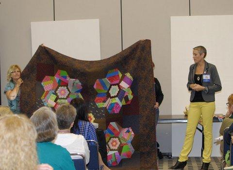Victoria Findlay Wolfe quilt market