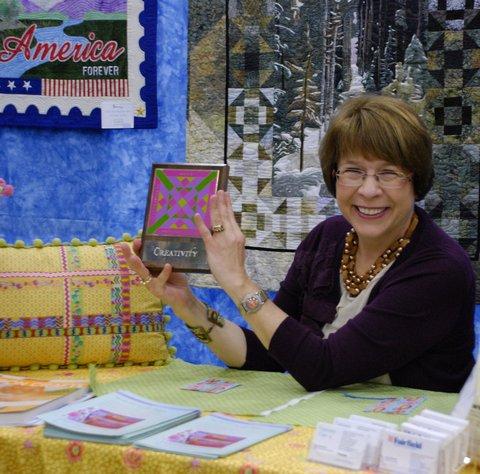 Elaine in Fairfield booth