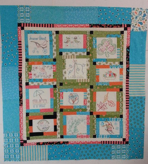 Pat Sloan Aurifil 2012 Designer of the Month top