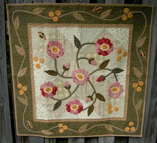 Wild rose full quilt pat sloan