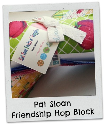 Pat Sloan Moda Hop Block