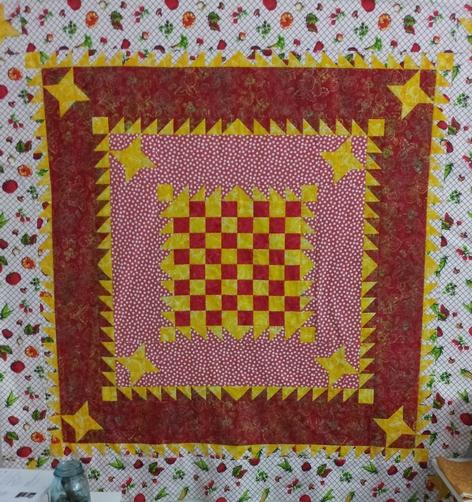 Checkerboard deluxe in EFAV fabric