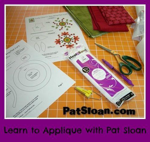 Pat sloan applique tutorial