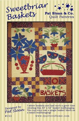Sweetbriar baskets by pat sloan