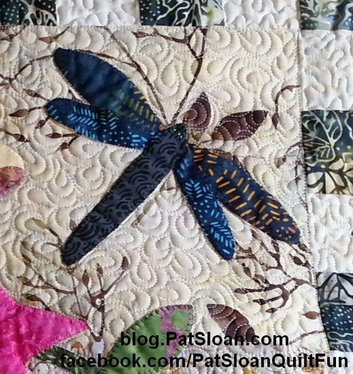 Pat Sloan April Dragonflys det