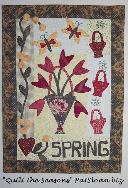 Pat sloan quilt the seaons spring
