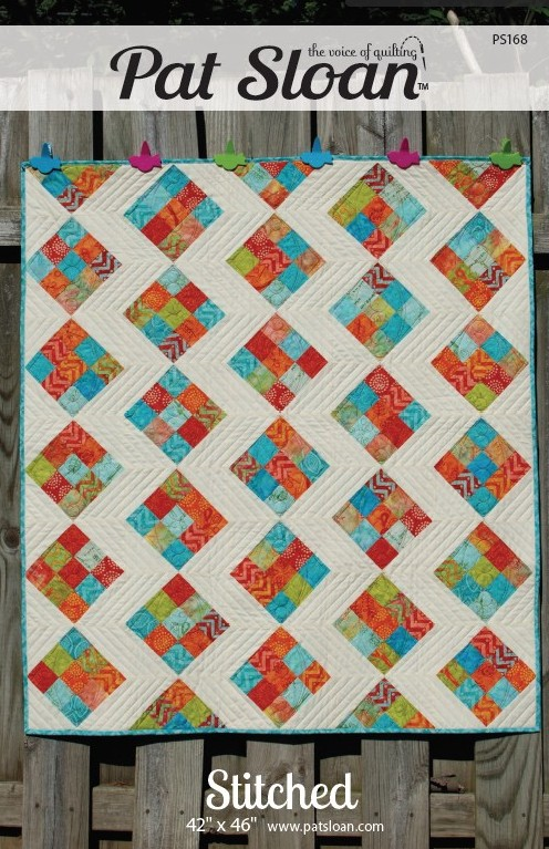 Pat Sloan Stitched pattern cover only