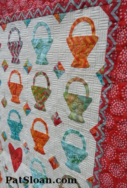 Pat sloan Sew Happy pattern basket weave