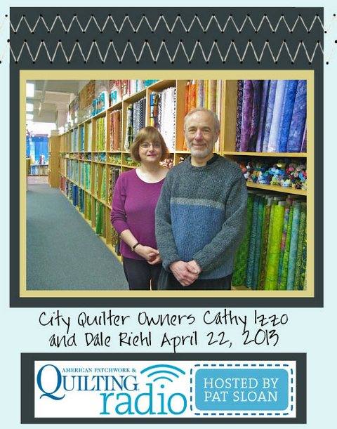 Pat Sloan American Patchwork and Quilting radio City Quilter guest