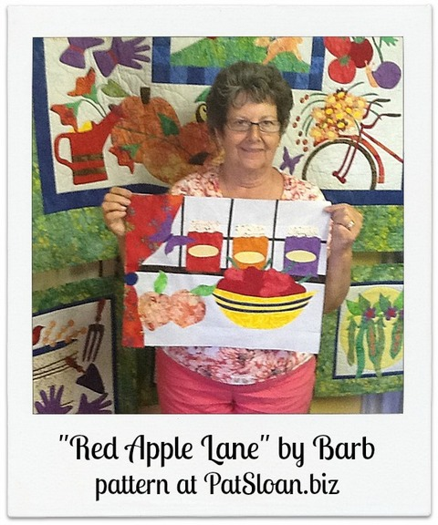 Red apple lane barb