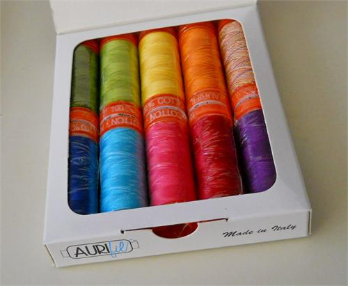 Pat sloan aurifil Kit for Eat your Fruits and Veggies sm