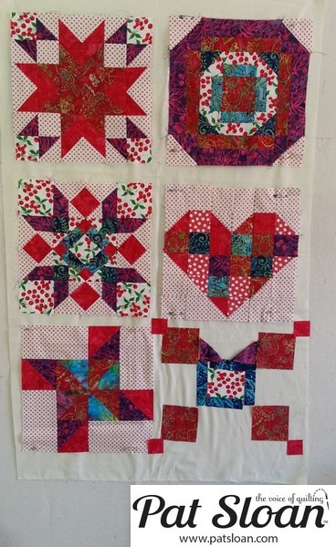 Pat Sloan June 2013 Aurifil Block6