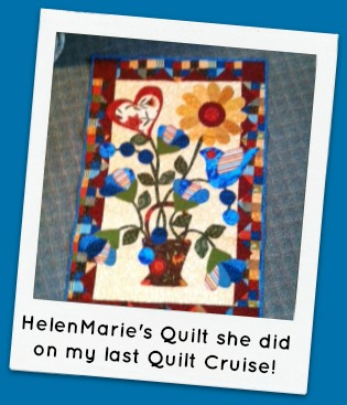 HelenMarie cruise quilt
