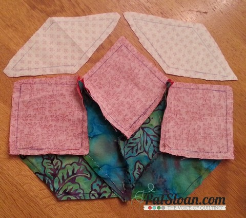 Pat sloan aurifil july block step out 15