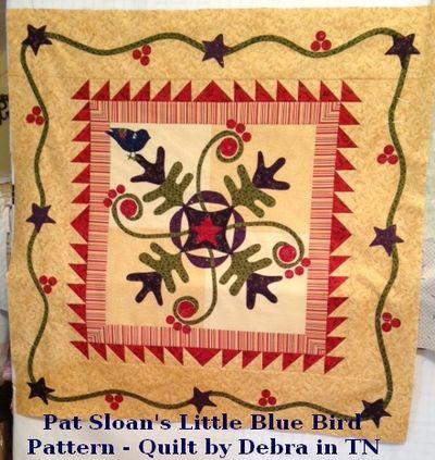 Debra in TN Little Blue Bird