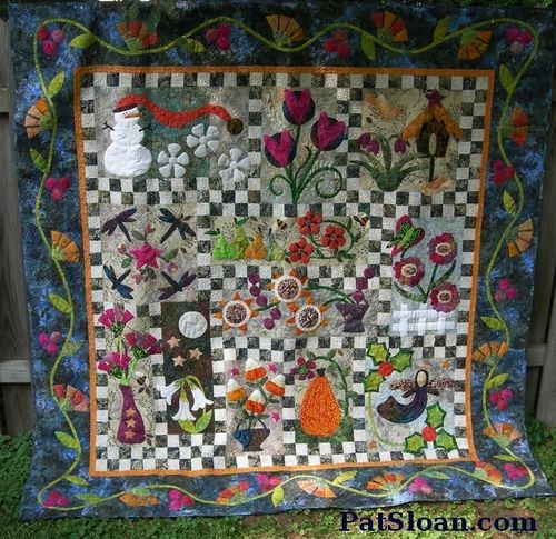 Pat Sloan BOM batik full quilt