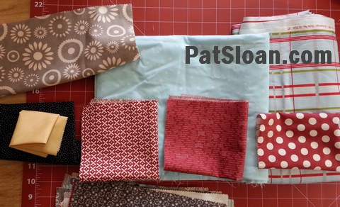 Pat sloan pillow case fabric audition 3