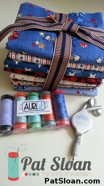 Pat sloan fabric giveaway