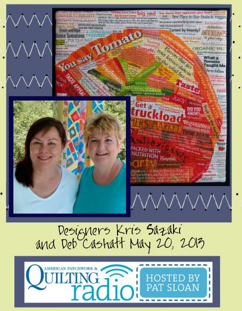 Pat Sloan American Patchwork and Quilting radio PixieLadies guest