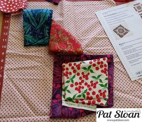 Pat Sloan June 2013 Aurifil Block4