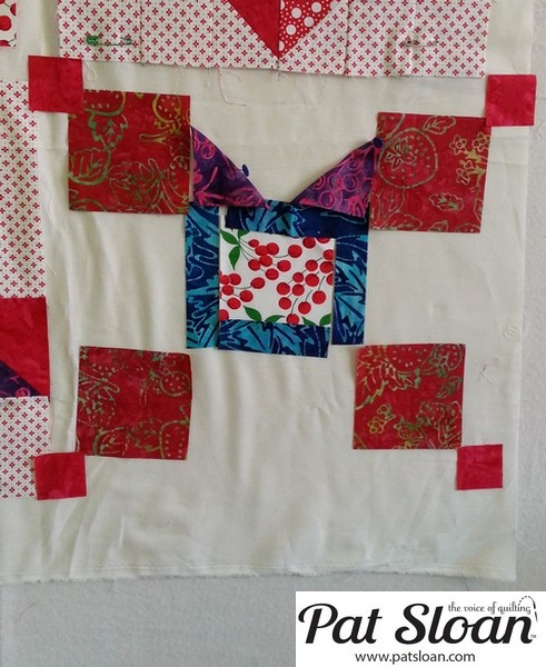 Pat Sloan June 2013 Aurifil Block7