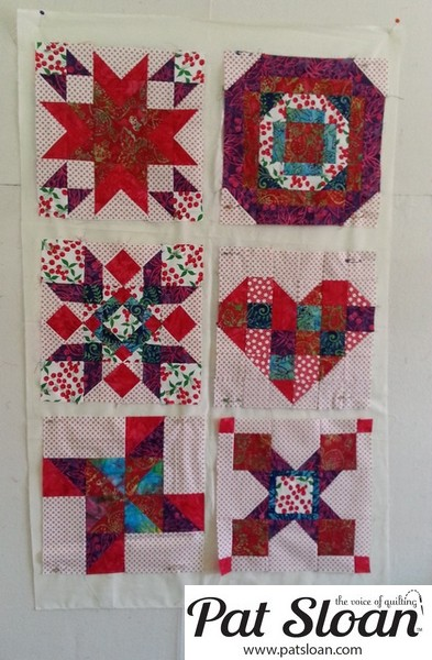 Pat Sloan June 2013 Aurifil Block8