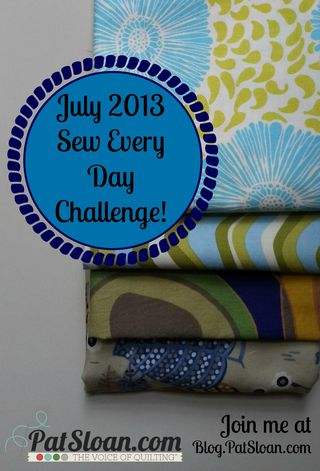 Pat sloan july 2013 challenge sew every day button