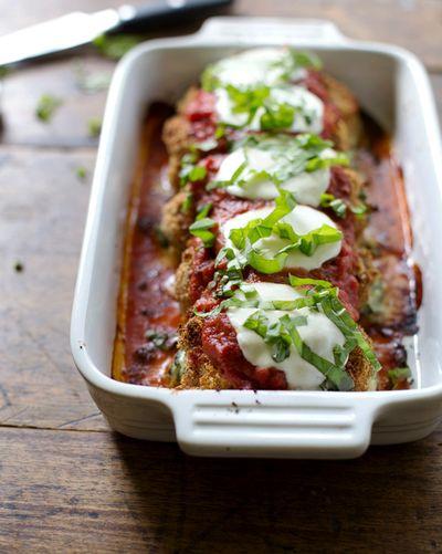 Pinch of yum baked-mozzarella-chicken-rolls-16