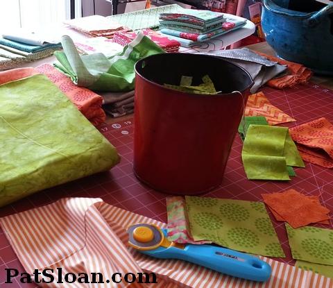Pat sloan fabric picking 1