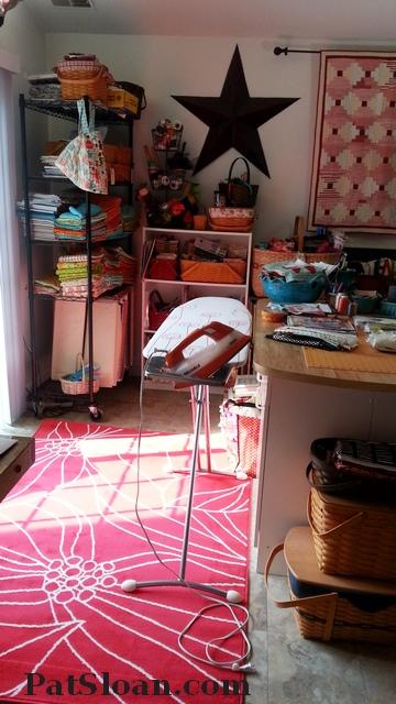 Pat Sloan Studio rug after