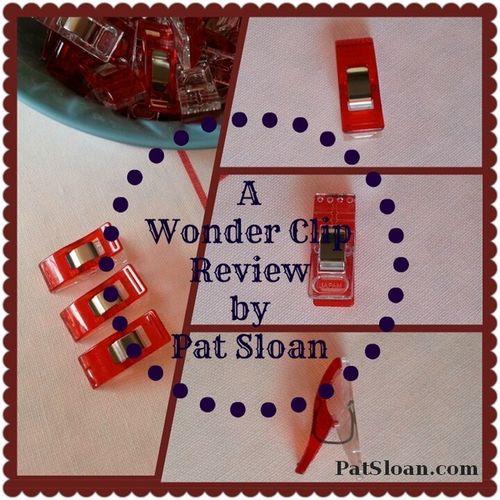 Pat sloan wonder clip review