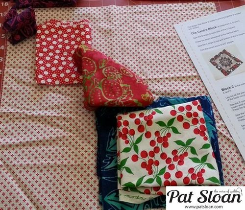 Pat Sloan June 2013 Aurifil Block3