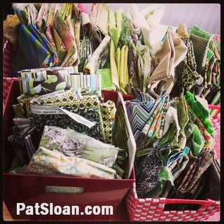 Pat sloan fabric bin