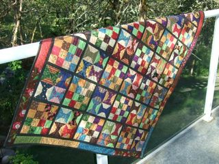 Glynis pat sloan scrap quilt