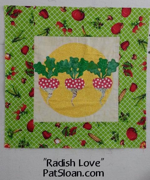 Pat sloan radish love